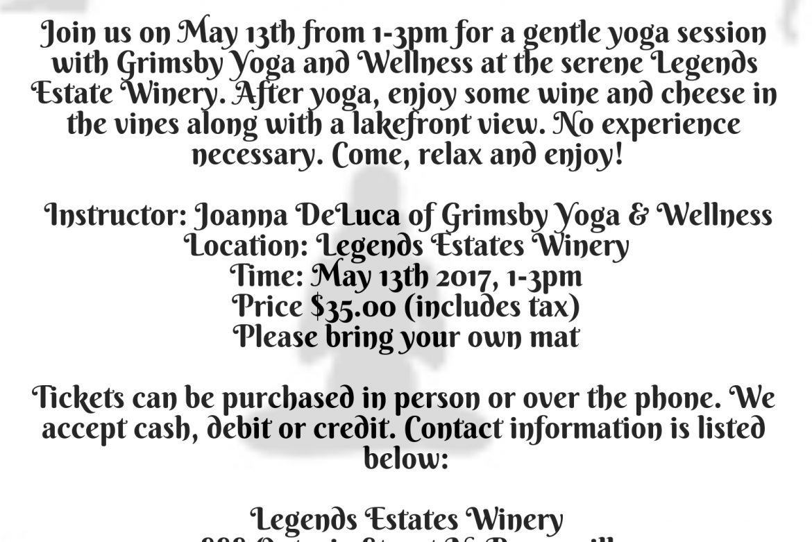 Wine and Unwind on May 13th 2017