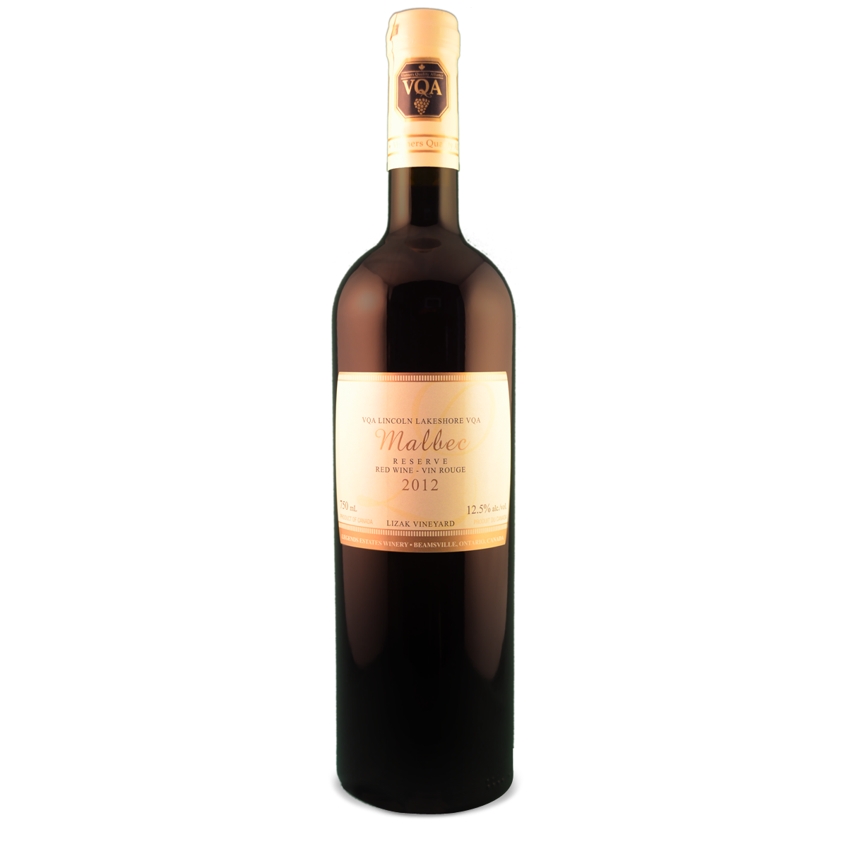 2012 Legends Malbec Reserve