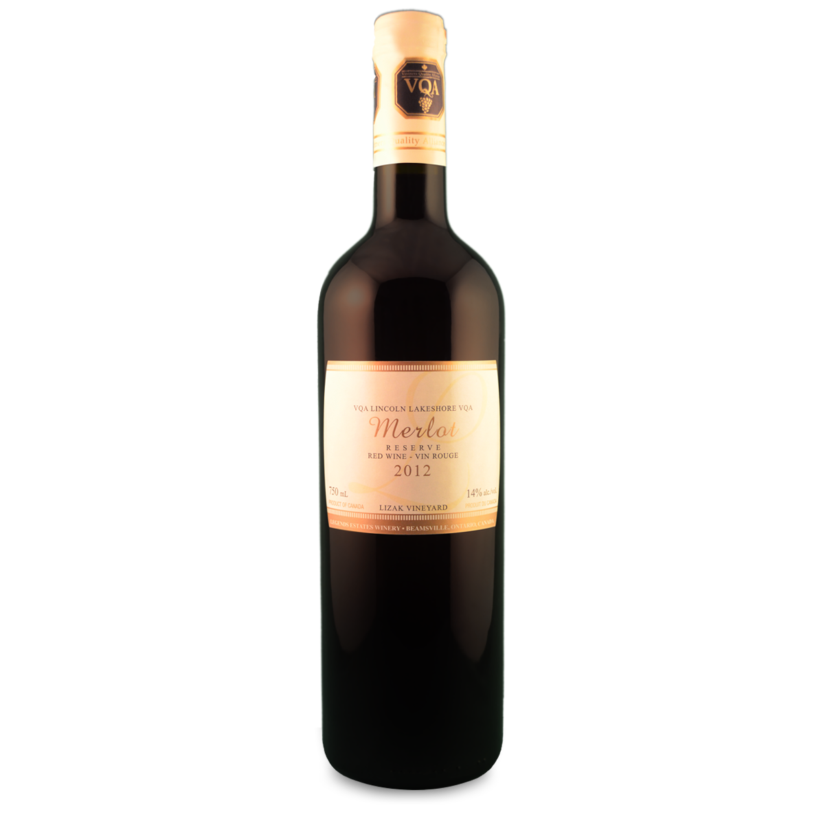 2012 Legends Reserve Merlot