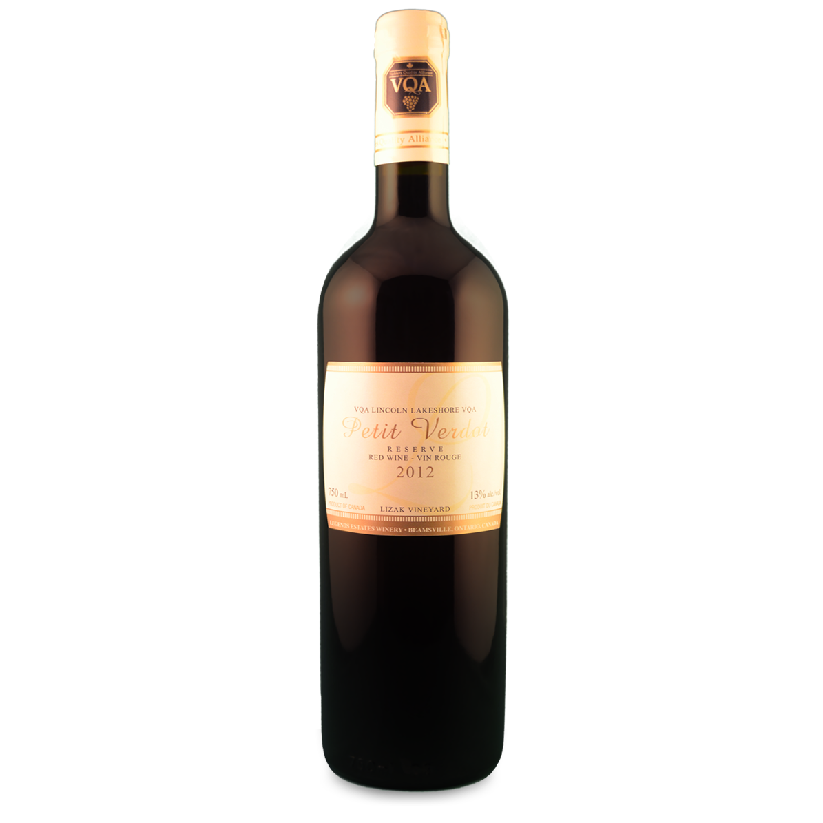 2012 Legends Reserve Petit Verdot
