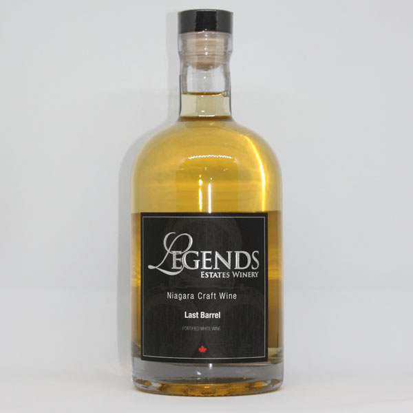 Legends Last Barrel – White